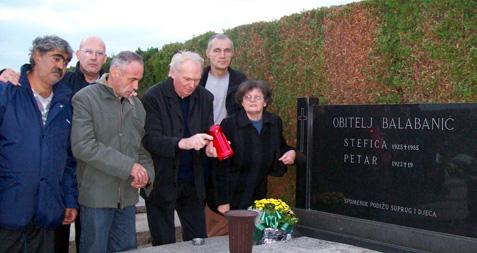 Na grobu gospodina Balabanića